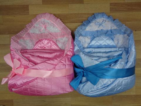Комплект д/выписки с одеялом № 6 (стеганый атлас) весна