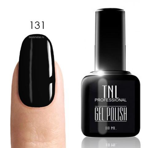 TNL Classic TNL, Гель-лак № 131 - черный (10 мл) 131.jpg