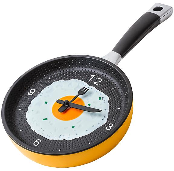 Часы настенные - сковородка