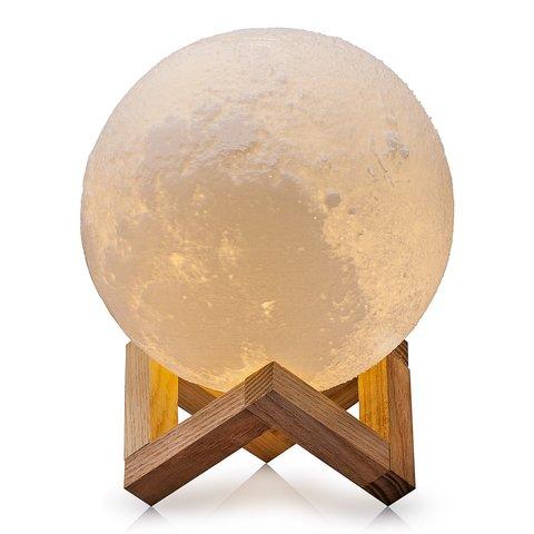 Светильник ночник 3D шар луна Moon Lamp 12 см