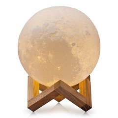 светильник ночник шар 3D луна moon light 12 см