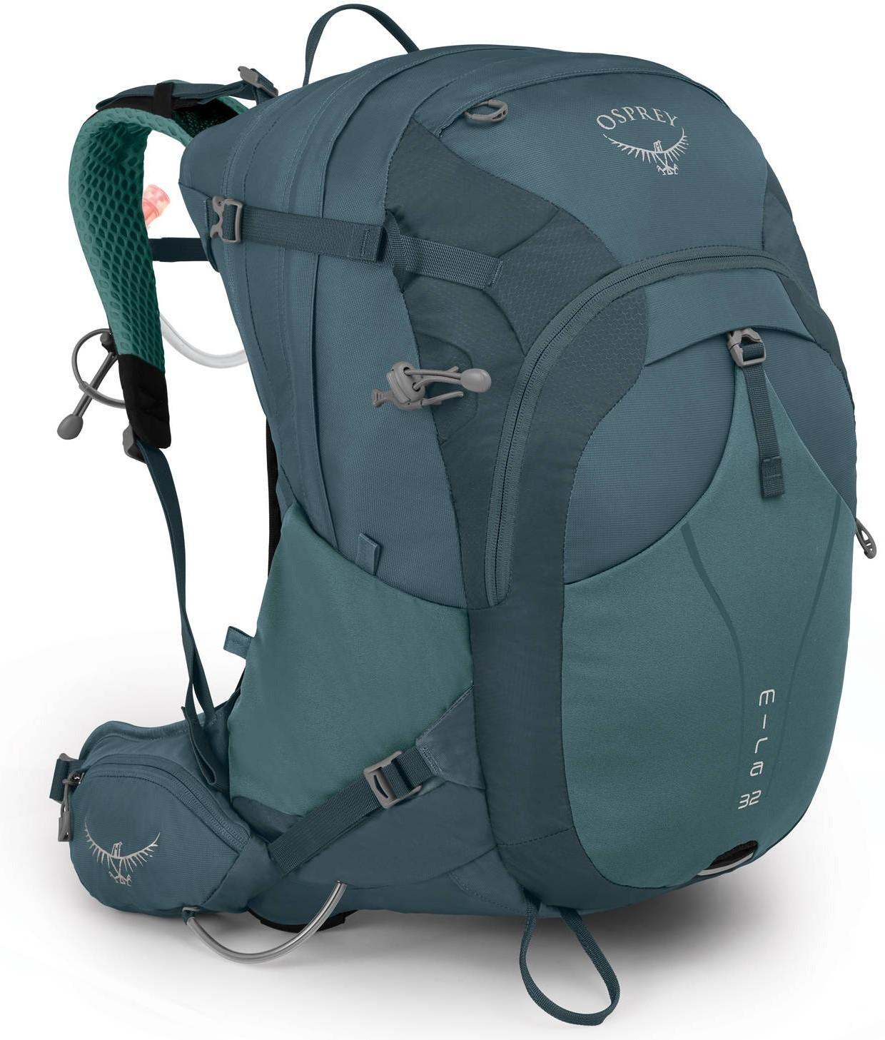 Туристические рюкзаки Рюкзак Osprey Mira 32 Bahia Blue Mira_32_S19_Side_Baha_Blue_web.jpg