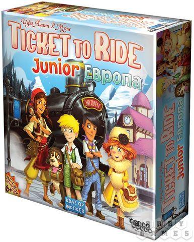 Настольная игра: Ticket to Ride Junior: Европа