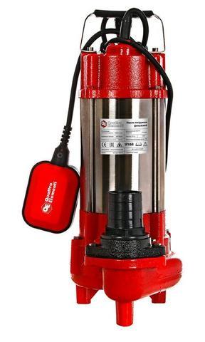 Фекальный насос QUATTRO ELEMENTI Sewage  500F Ci (500 Вт, 16000 л/ч, для грязной, 12 м, 16 (910-157)