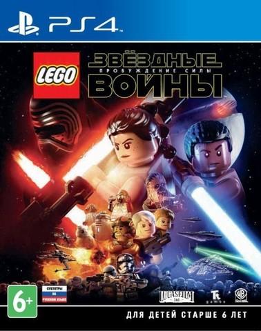 PS4 LEGO Звездные войны: Пробуждение Силы (русские субтитры)
