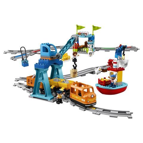 LEGO Duplo: Грузовой поезд 10875 — Cargo Train — Лего Дупло