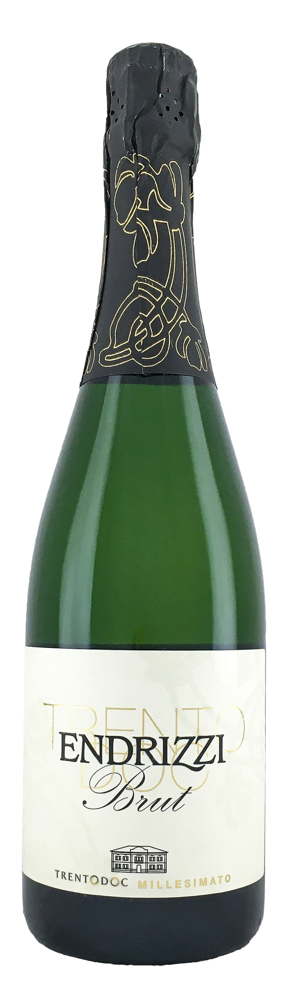 Вино Эндрицци Брют Классический метод Тренто игрист.сух.бел.з.н.м.п.рег.Трентино кат. DOC 0,75л.