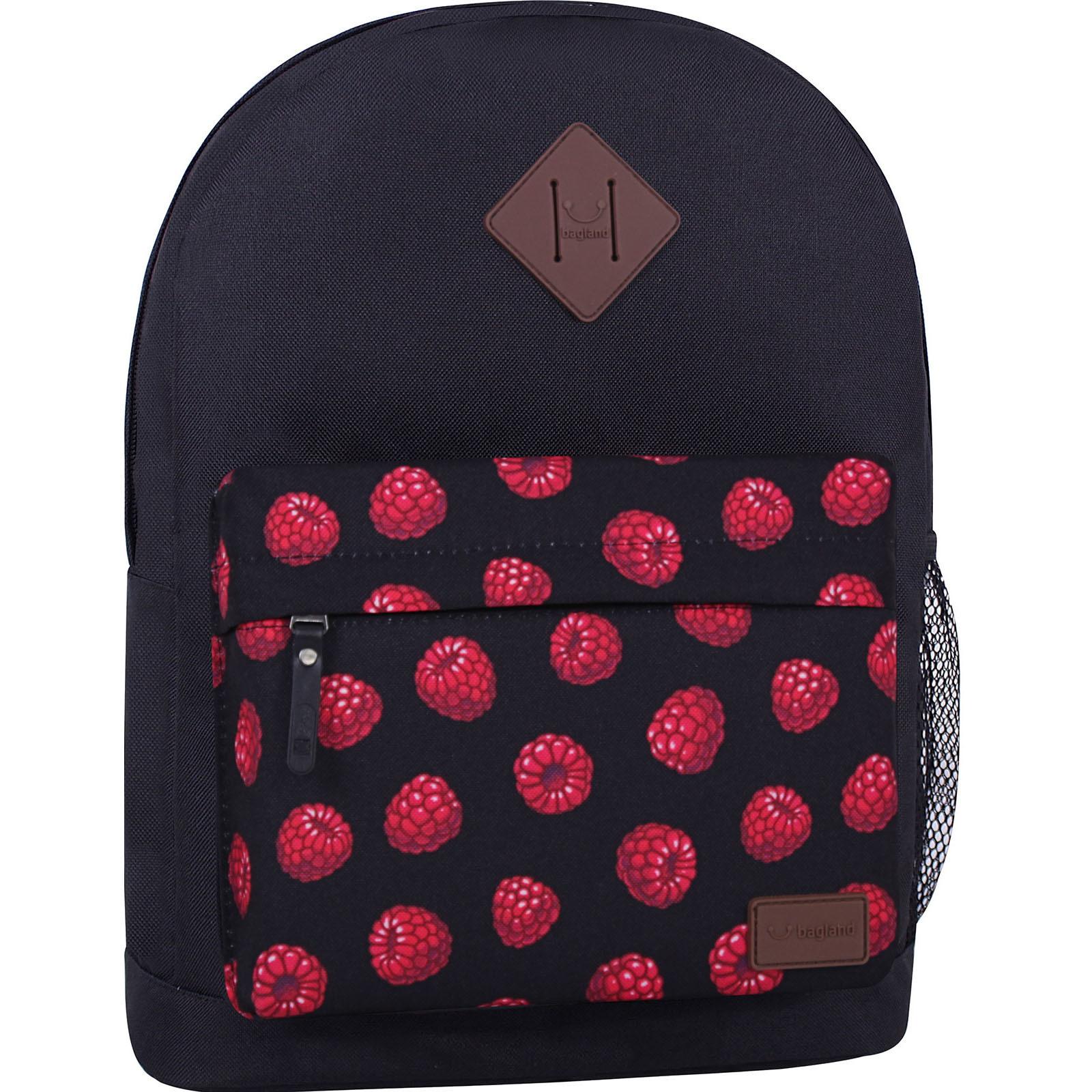 Молодежные рюкзаки Рюкзак Bagland Молодежный W/R 17 л. Чёрный 761 (00533662) IMG_7263_суб.761_-1600.jpg