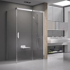 Душевой уголок с раздвижной дверью 100х100х195 см правый Ravak Matrix MSDPS-100/100 R 0WPAA100Z1 фото