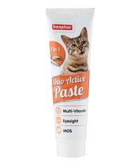 Beaphar Duo Active мультивитаминная паста двойного действия для кошек 100г