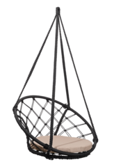 Подвесное кресло-гамак Costa Black