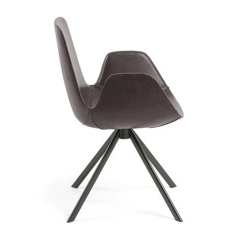 Кресло Yasmin коричневое