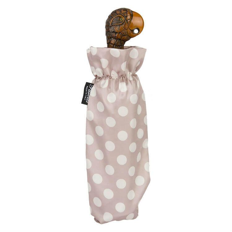 Зонт складной женский Pasotti 257 55874-Parrot Handle