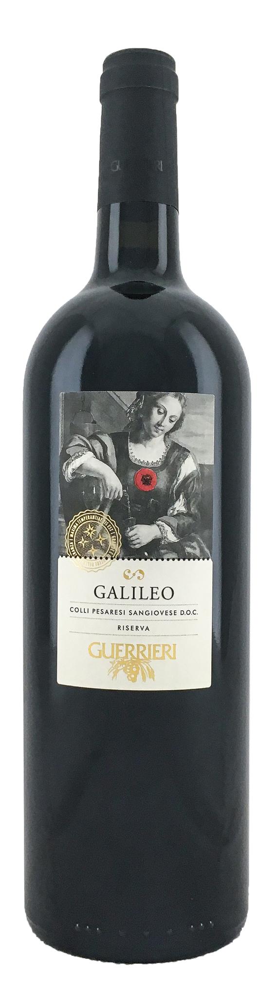 Вино Галилео сухое красное з.н.м.п. кат. DOC, рег. Марке 0,75л.