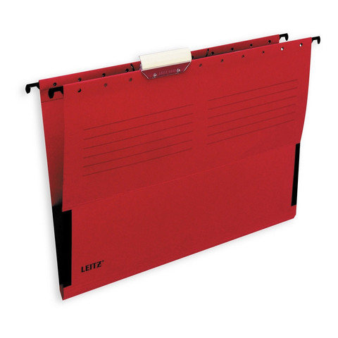 Подвесная папка Leitz А4 до 20 листов красная