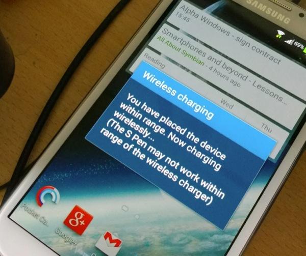 Galaxy Note 2 Комплект для Samsung Galaxy Note 2: беспроводная зарядка Qi + приемник-ресивер Qi note2.jpg