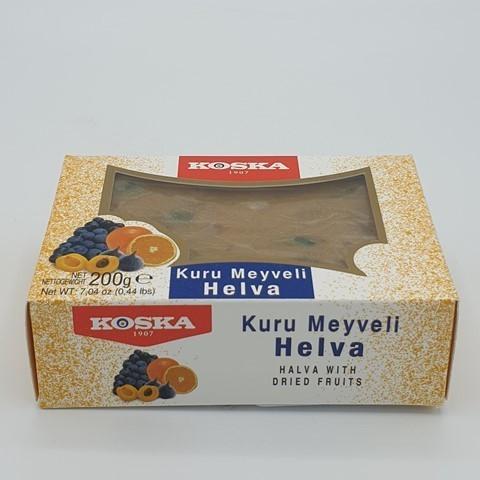 Летняя халва с сухофруктами KOSKA, 200 гр