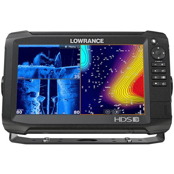 Lowrance HDS-9 Carbon вид спереди