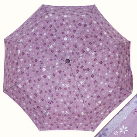 Купить сиреневый женский зонтик цветы, Италия