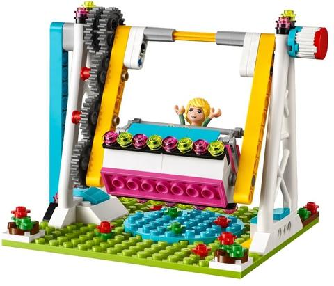 LEGO Friends: Парк развлечений: аттракцион Автодром 41133 — Amusement Park Bumper Cars — Лего Френдз Друзья Подружки