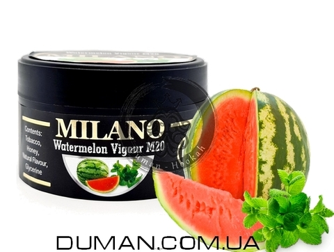 Табак Milano M20 Watermelon Vigour (Милано Арбуз Мята)
