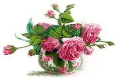 Набор для вышивания Романтические розы