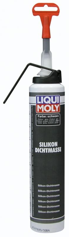 Liqui Moly Silicon Dichtmasse schwarz  Силиконовый герметик (черный)