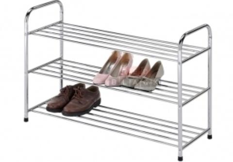 Подставка для обуви 3 полки EP 9647-3 хром