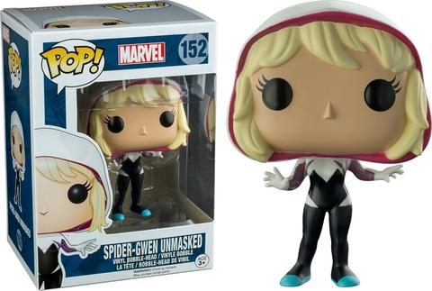 Spider-Gwen Unmasked Funko POP! Marvel Vinyl Figure    Гвен-Паук без маски