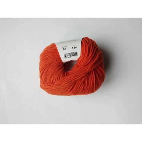 Пряжа YarnArt JEANS 85 морковный