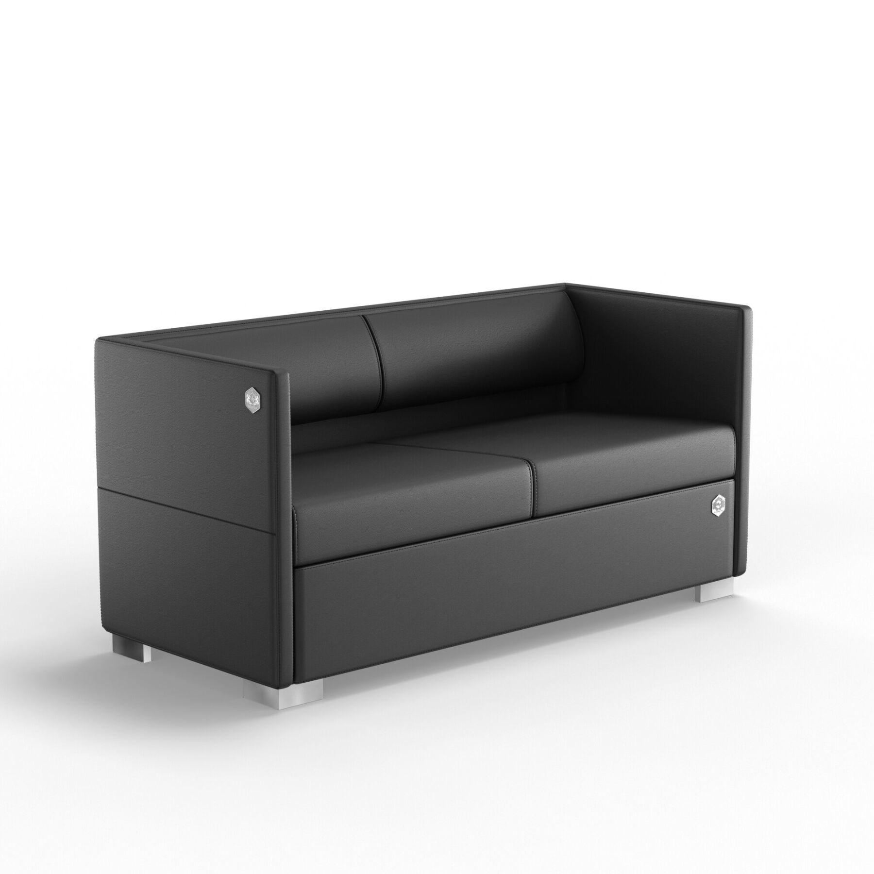 Двухместный диван KULIK SYSTEM LOUNGE Кожа 2