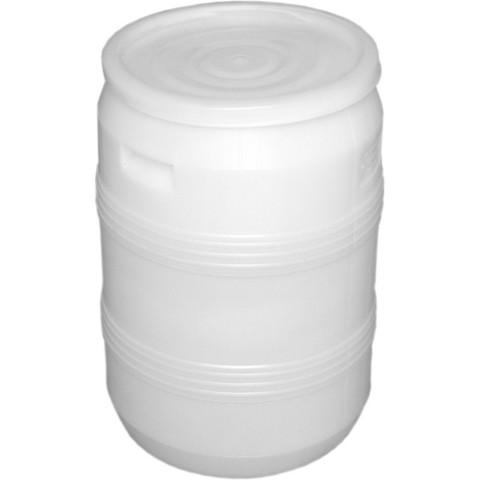 Бочка п/э 50л с крышкой белая (БП 50)