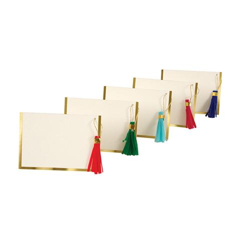 Карточки для рассадки с кисточками, 10 шт.