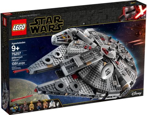 LEGO Star Wars: Сокол Тысячелетия 75257 — Millennium Falcon — Лего Звездные войны Стар Ворз