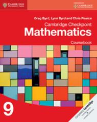 Cambridge Checkpoint Mathematics Coursebook 9