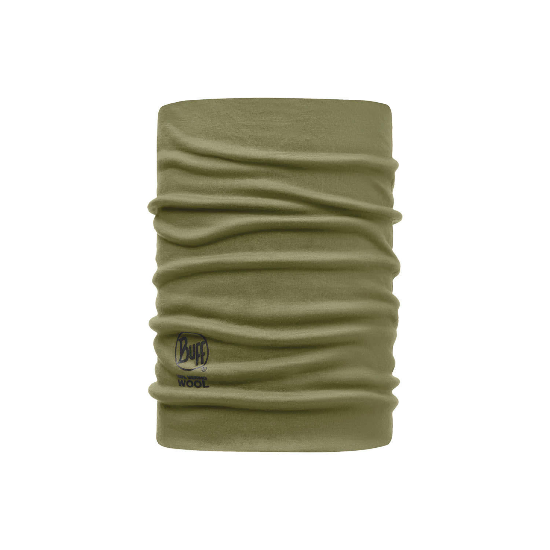 Шерстяные шарфы Шарф-труба из шерсти Buff Solid Light Military 113580.850.10.00.jpg