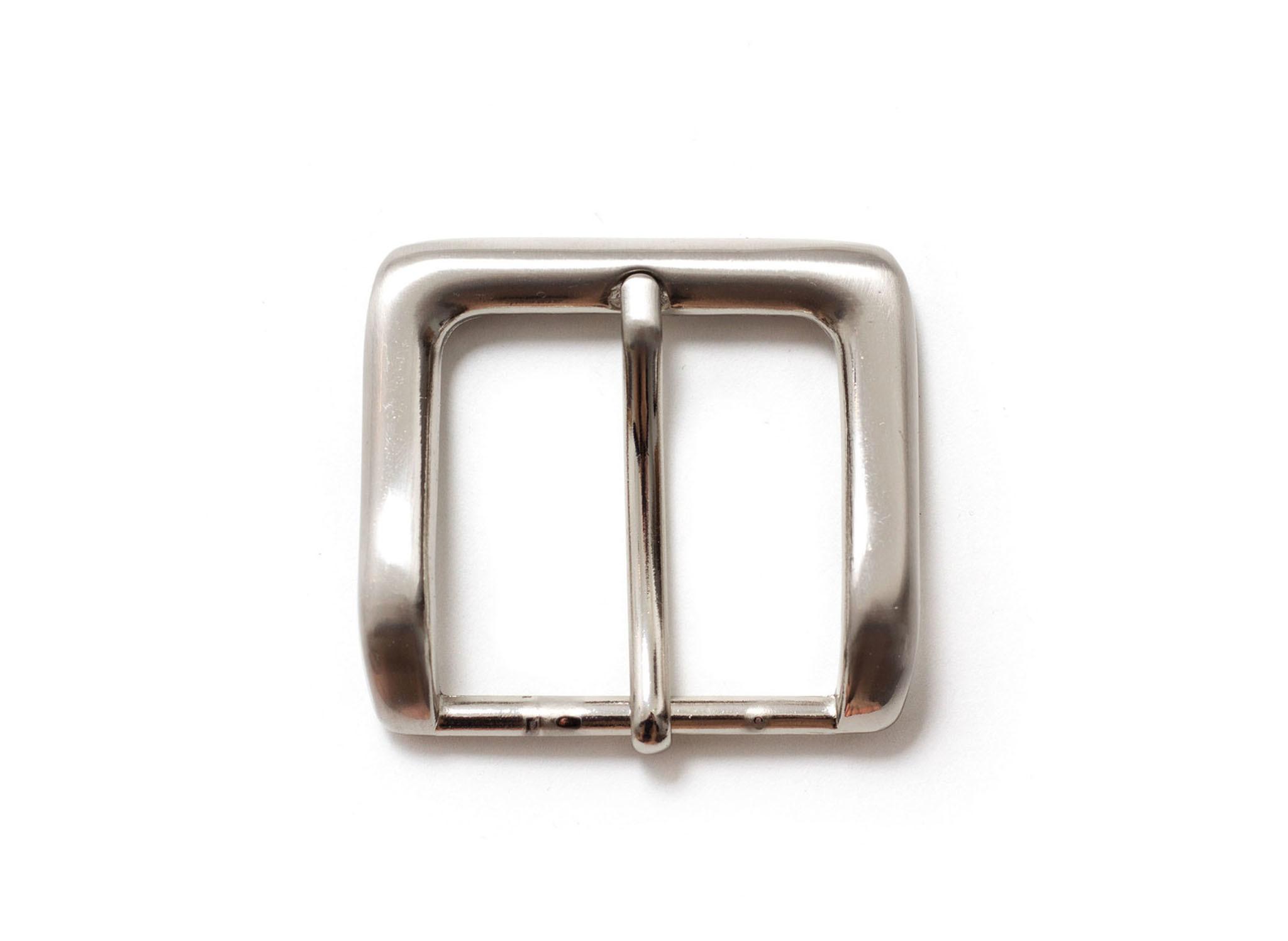 Пряжка для ремней 39 мм - никель.