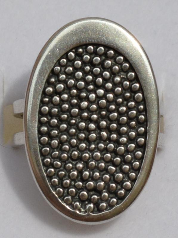 Споты (кольцо из серебра)