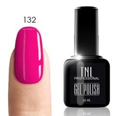 TNL, Гель-лак № 132 - глубокий розовый (10 мл)