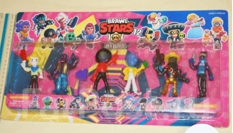 Набор Brawl Stars 6 фигурок 8 см