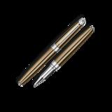 Роллер Carandache Leman CAVIAR SP латунь лак посеребрение с родиевым напылением (4779.497)