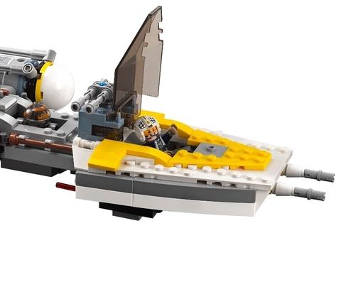 LEGO Star Wars: Звёздный истребитель типа Y 75172 — Y-wing Starfighter — Лего Звездные войны Стар Ворз
