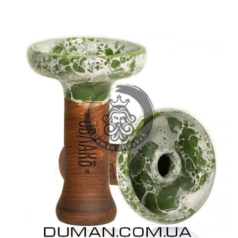 Чаша Oblako Phunnel Glaze Top (Облако) |Green-White L