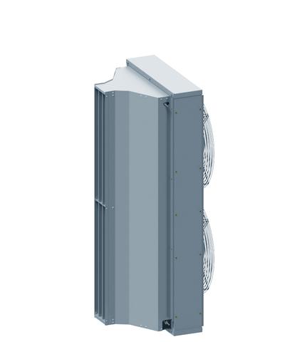 Электрическая завеса Тепломаш КЭВ-24П7011Е серия 700 IP54 (Длина 1,5м)