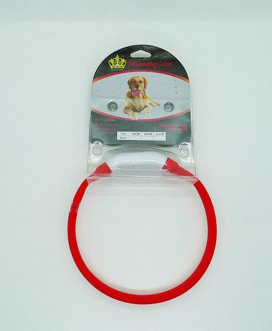 Royal Dog ошейник светящийся размер S 35см