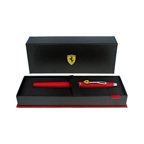 Cross Selectip Classic Century - Ferrari Matte Rosso Corsa Red Lacquer/Chrome, ручка-роллер123