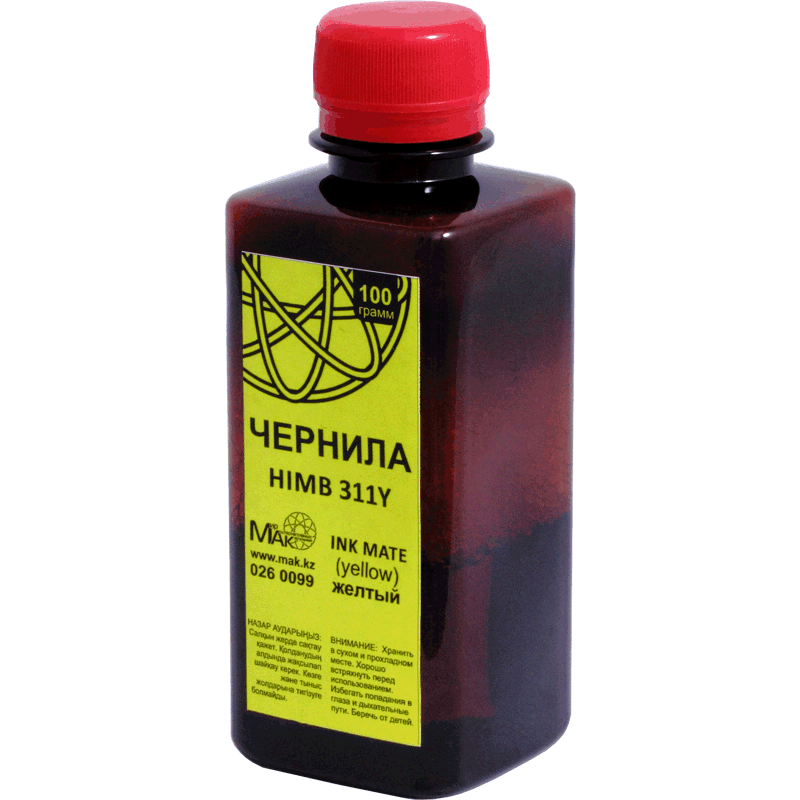 INK MATE HIMB-311Y, 100г, желтый (yellow)