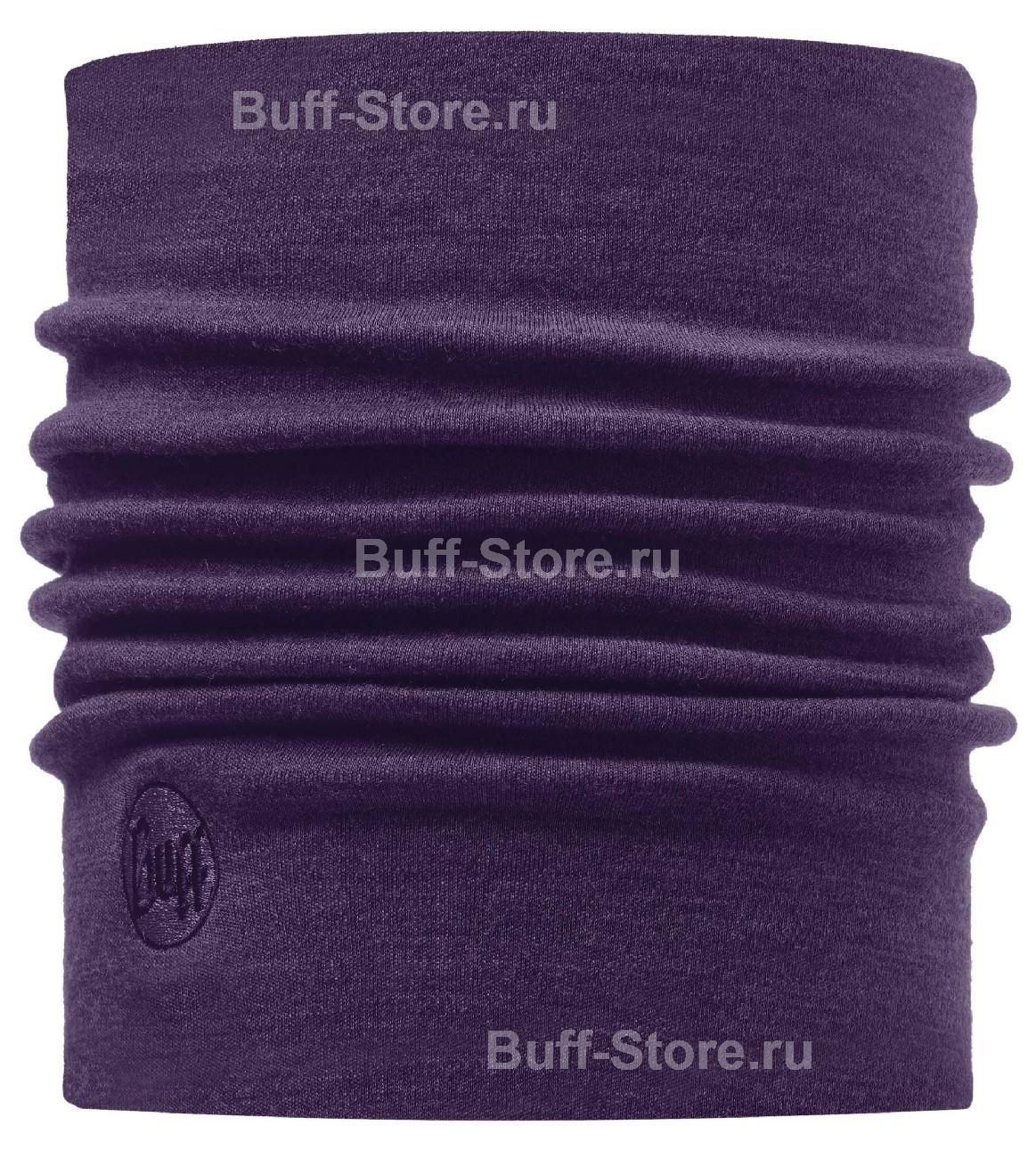 Шерстяные шарфы Зимний шарф-труба из шерсти Buff Plum 110965.00.jpg