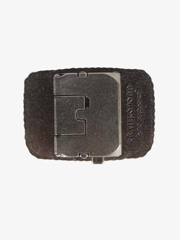 Бляха-автомат цвета старого серебра – Лесная сказка
