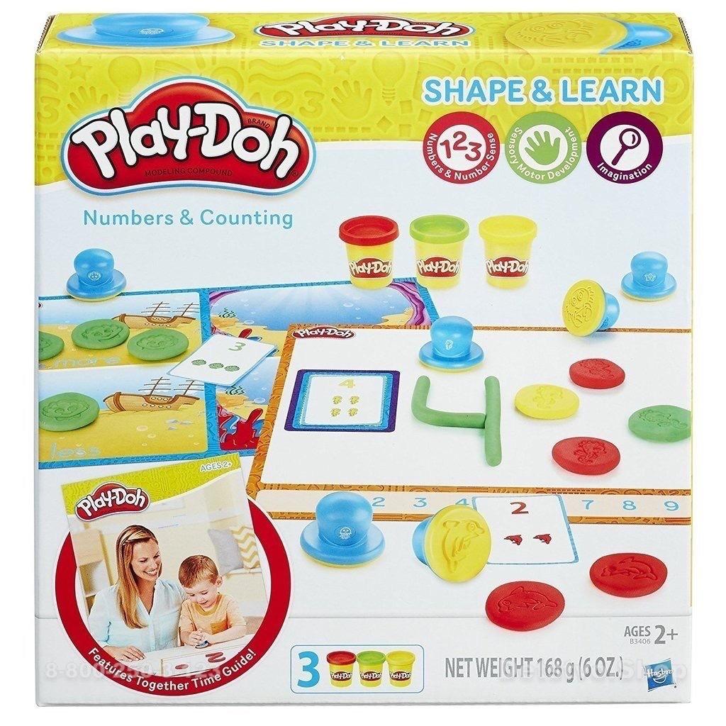 Play-Doh Игровой набор ЦИФРЫ И ЧИСЛА,